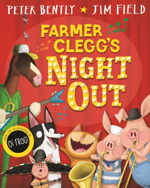 Farmer Clegg's night out childrens book