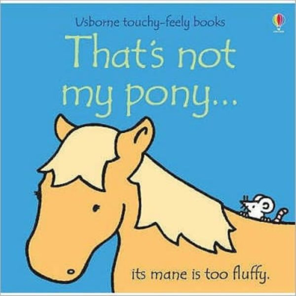 That's not my pony childrens board book