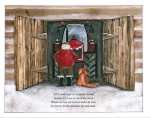 Farmer Christmas Festive Farmyard childrens book