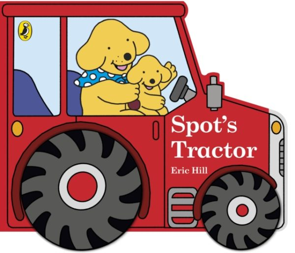 Spots tractor childrens story book