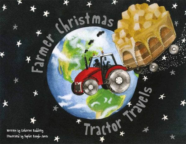 Farmer Christmas Tractor Travels childrens book