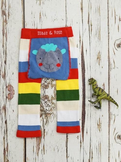 Bright sheep leggings for babies & todders, Blade & Rose
