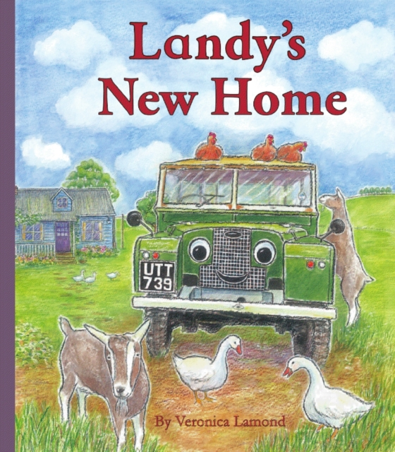 Landy's new home children's story book