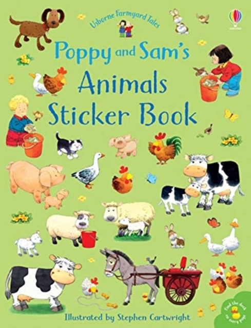 Poppy & Sam farm animal sticker book