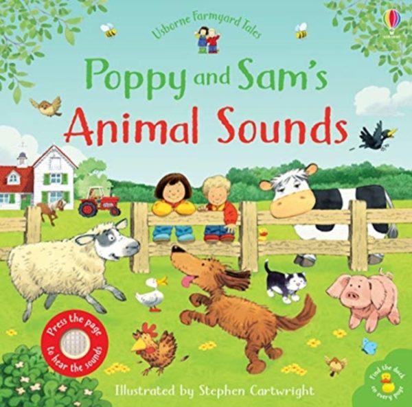Poppy & Sams Animal sounds childrens book