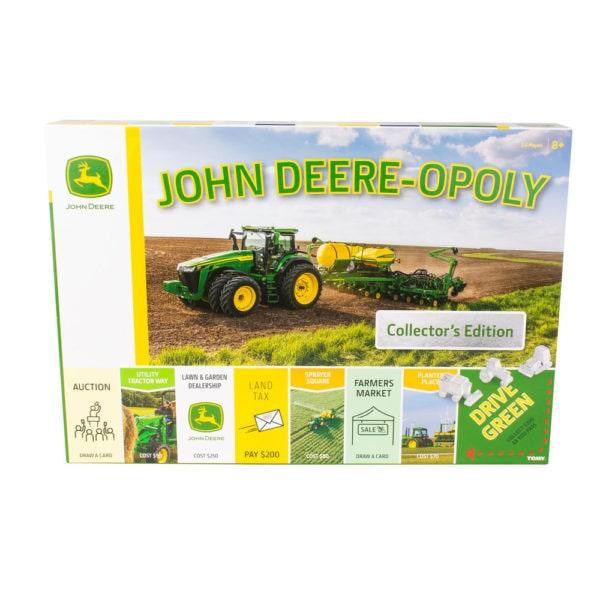 John Deer opoly tractor board game