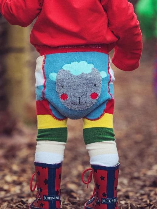 Toddler sheep leggings Blade & Rose design